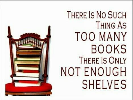 That's why I've gone digital! Otheriwse, there would be a huge hole where my house sunk in from the weight of all the books.
