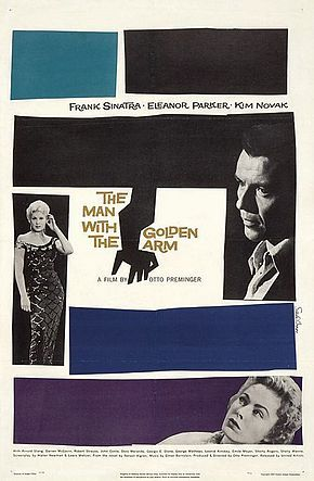 Description de l'image The Man with the Golden Arm poster.jpg.