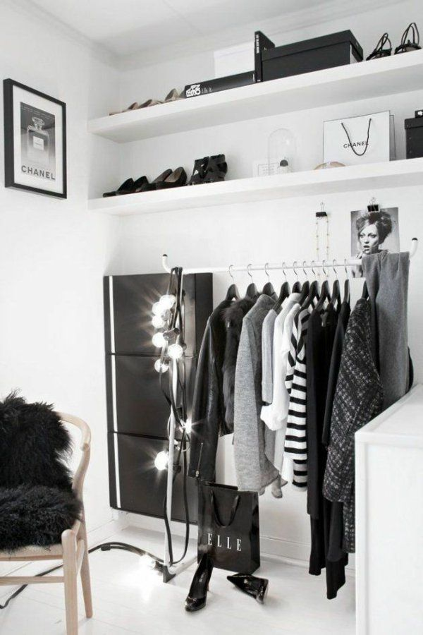 Offener schrank selber bauen  Die besten 25+ Begehbarer kleiderschrank selber bauen Ideen auf ...