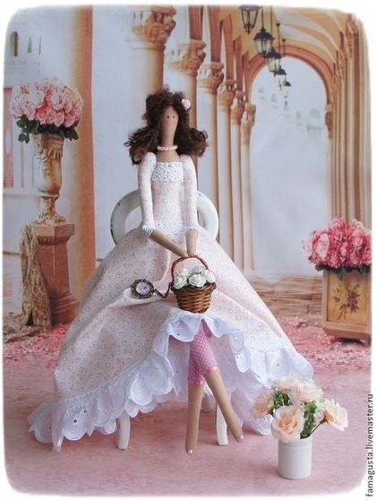 Куклы Тильды ручной работы. Ярмарка Мастеров - ручная работа Тильда Gentle. Handmade.