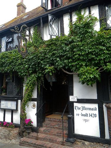 The Mermaid, Rebuilt 1420, Mermaid Street, Rye, East Sussex
