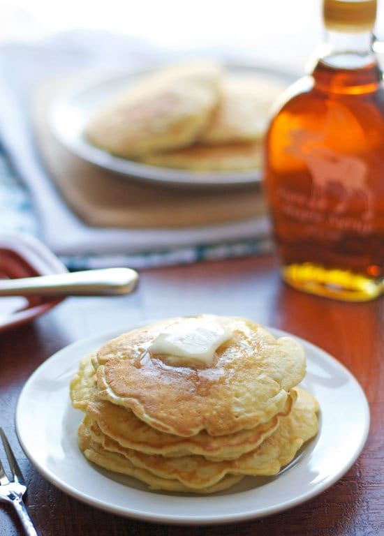 Fluffy Pancakes: A classic pancake recipe that's ready in 15 minutes and uses ingredients you already have on hand.
