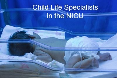 Blog by two child life specialists working in the NICU - some helpful tips for distraction techniques with premature infants and developmentally appropriate play activities. Also contains some useful ideas for support groups for siblings of NICU patients.