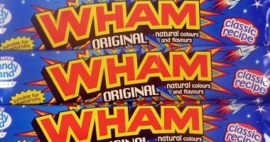 Wham Bars Wham Bars - Absolutely POPtastic! Think of all things 80s: Rubiks Cubes, leggings, garish plastic earrings a la Pat Butcher, shaggy perms, electric blue eyeshadow, Screwballs (remember that ice cream  http://www.MightGet.com/january-2017-12/wham-bars.asp