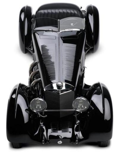 ❤ Mercedes Benz SSK, Comte Trossi, 1930