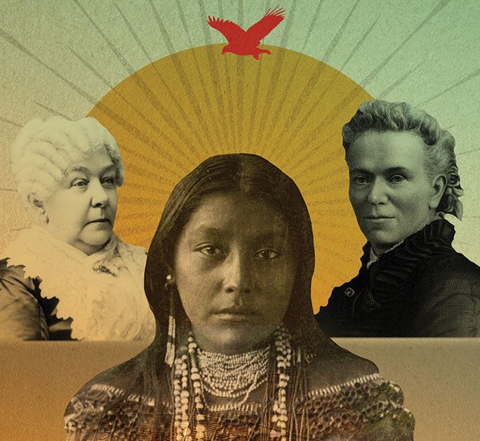 How Native American women inspired the early feminist movement.