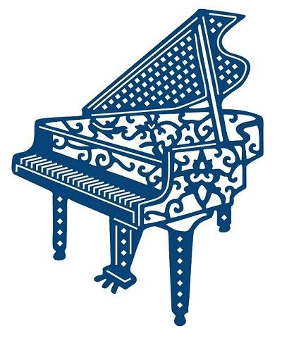 Tattered Lace - Dies - Piano
