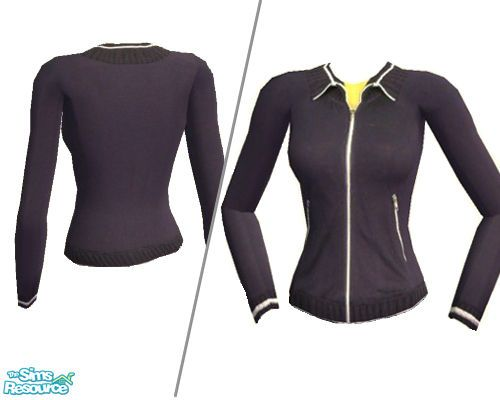 NomiLu's Striped Athletic Jacket