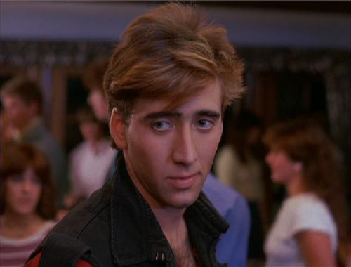 Nicholas Cage in Valley Girl. One of my favorite movies as a teenager.