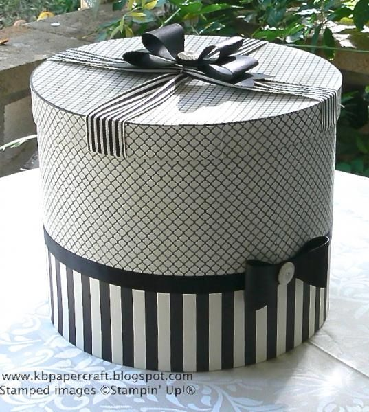 Everyone wore a hat to church and all hats came in a Hat Box!!!! Now you can't get a hat box unless you pay separately. Love the design of this box.