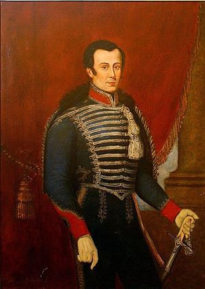 Jose Miguel Carrera ( founder of Independent Chile) by Francisco Javier Mandiola