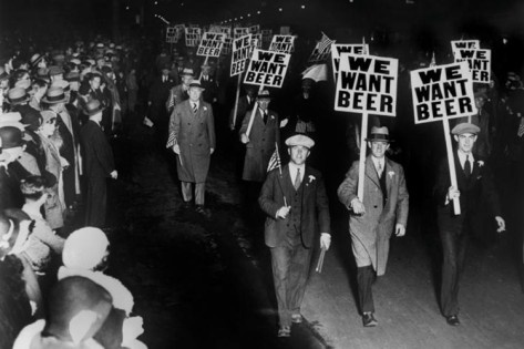 We Want Beer Prohibition Photo Poster Poster