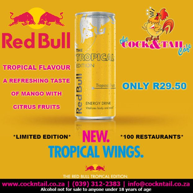 YELLOW @RedBullZA available for 3 Months! Order yours today for ONLY R29.50 http://bit.ly/1FgBugl