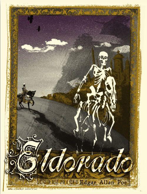 Eldorado Poem | Edgar Allen Poe Print Set by Jon Smith (Onsale Info)