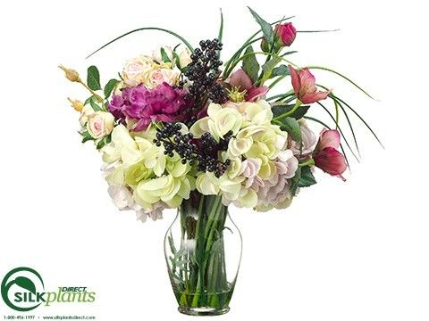 Helleborus, Anemone, Rose, Hydrangea - Orchid Pink - Pack of 1
