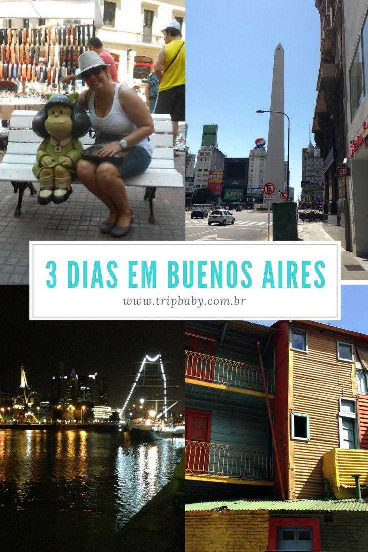 Buenos Aires - roteiro de 3 dias