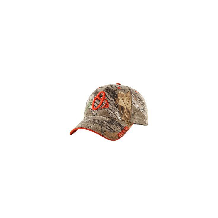 MLB Baltimore Orioles Fan Favorite Realtree Hat, Adult Unisex
