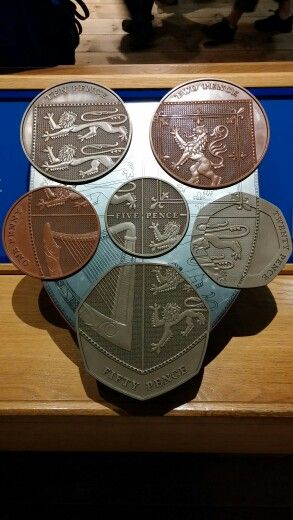 British coins. Never knew about this...