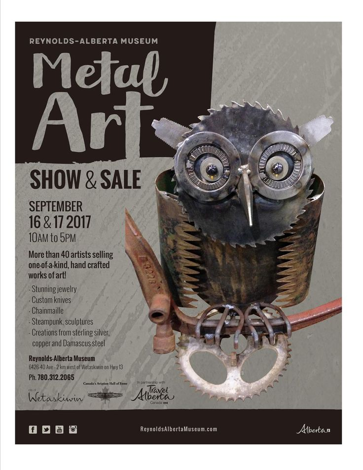 Copper Lizard Studio will be at the Metal Art Show and Sale this weekend. Come and check it out if you are anywhere near Wetaskiwin.