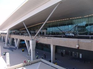New departures terminal at Cape Town International Airport
