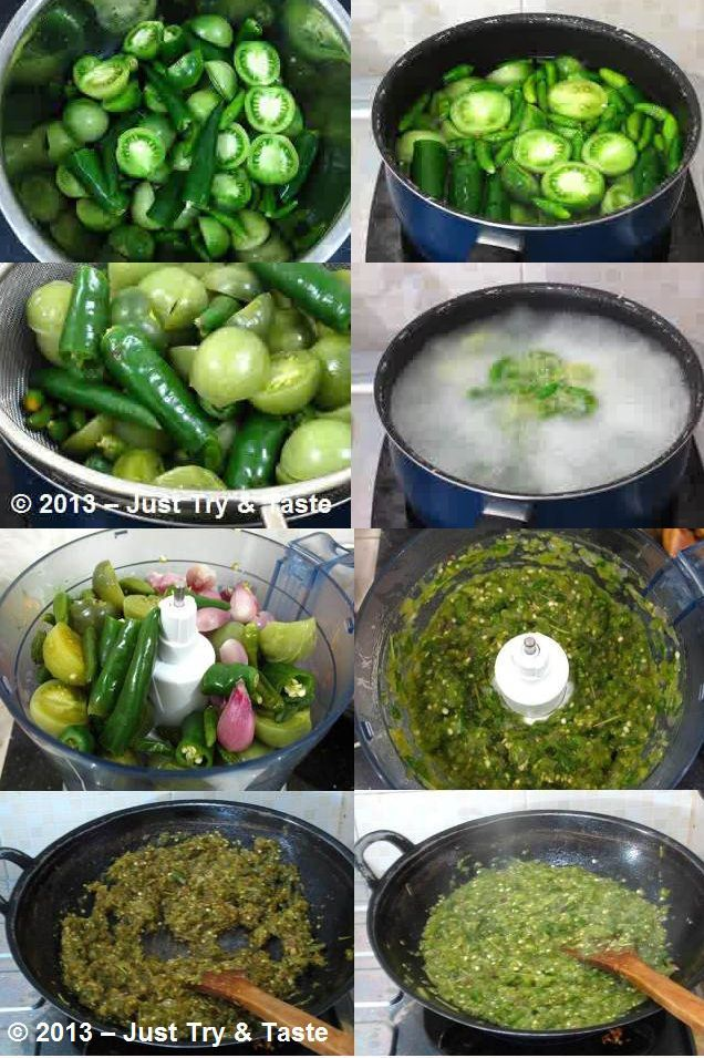 Sobat Pulsk, inilah resep membuat sambal hijau. Siapkan tomat hijau dan cabai…