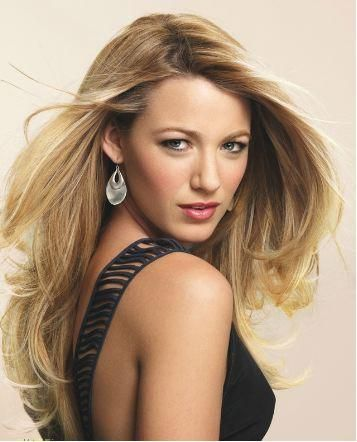 Blake Lively: Long Hair Style, Hair Colors, Makeup Box, Blake Living, Eye Makeup Tips, Style Icons, Blondes Highlights, Hoods Eye, Gossip Girls