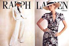 2007 Ralph Lauren Collection Valentina Zelyaeva MAGAZINE AD - Great Gatsby style