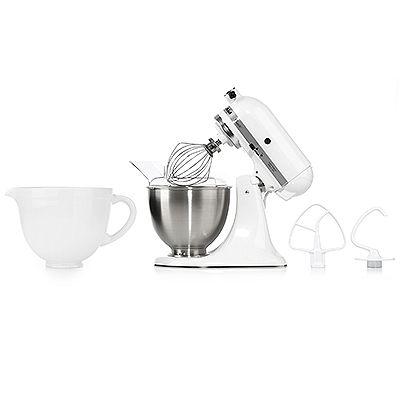 KITCHENAID® Classic Küchenmaschine Spitzschutz & Keramikschüssel 275W online bestellen bei QVC.de