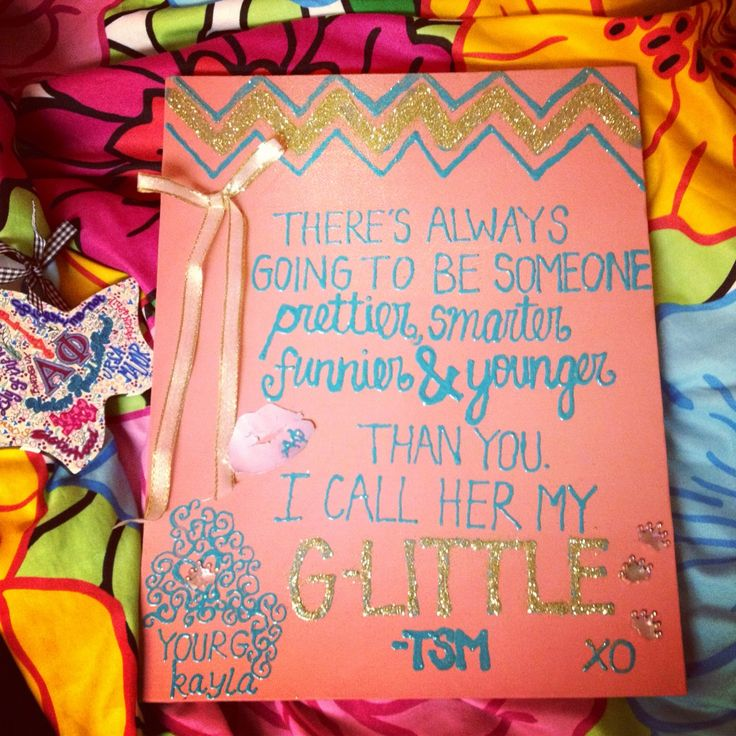 Everything about this is perfect, including my crafty and beautiful Grand Big! TSM.
