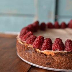 Low-Fat Gluten-Free Cheesecake.