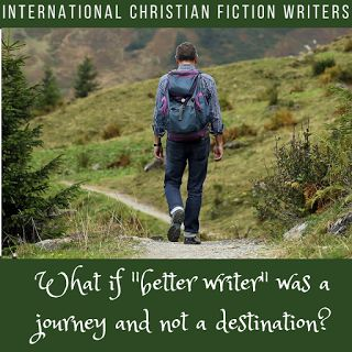 "What if ""better writer"" was the journey and not the destination?"