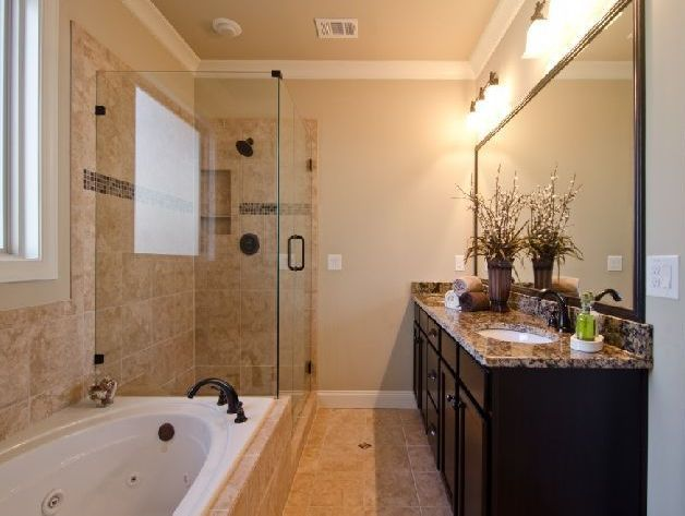Small Master Beautiful Bathroom Ideas: Master Bathroom Ideas On A Budget - Google Search
