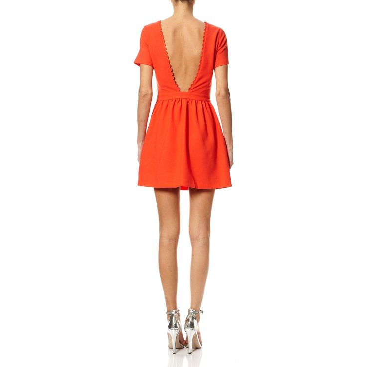 Charly - Robe courte - corail - Suncoo - Ref: 1821292 | Brandalley