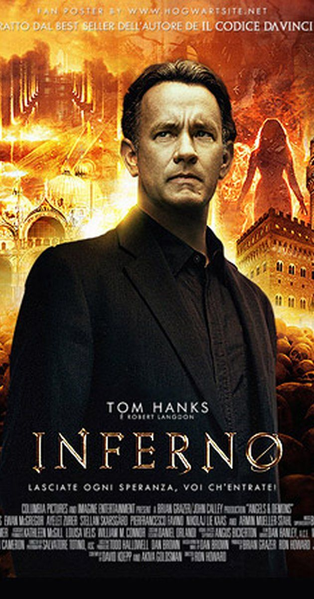 Directed by Ron Howard.  With Tom Hanks, Felicity Jones, Ben Foster, Omar Sy. After waking up in a hospital room in Florence, Italy, with no memory of what has occurred for the last few days, Robert Langdon suddenly finds himself the target of a manhunt. With the help of Dr. Sienna Brooks and his knowledge of symbology, Langdon will try to escape whilst solving the most intricate riddle he's ever faced.