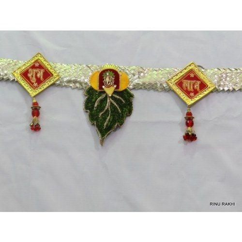 Online Shopping for valvet designer bandhanwar,free shi   Outdoor Decor   Unique Indian Products by Rinu Rakhi - MRINU67482740880