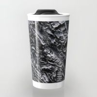 Bronzed Travel Mug Make your mornings less of a drag, with brightly coloured, and brilliantly patterned travel mugs.