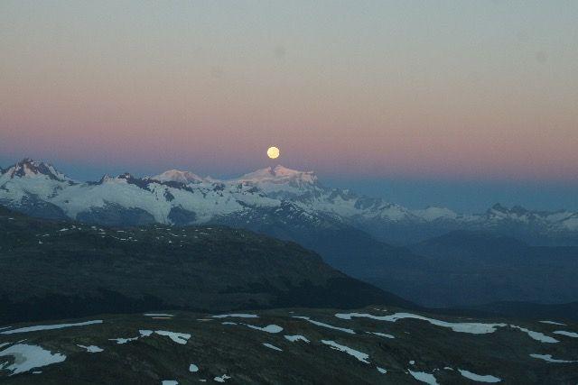 full moon with san valentin