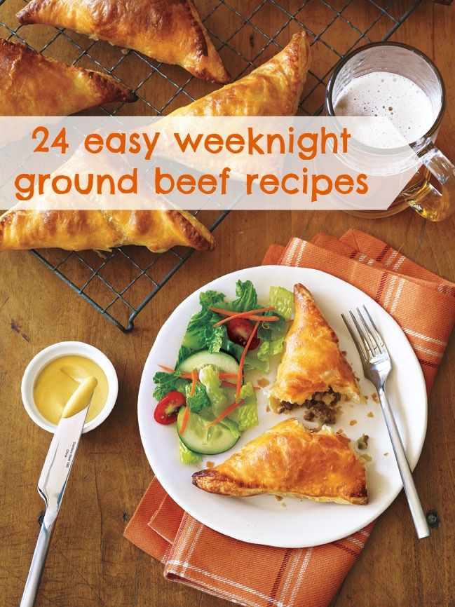 24 Easy Ground Beef Recipes For Busy Weeknights Easy