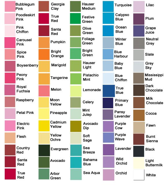 Paint Colors And Wall Paint Colours