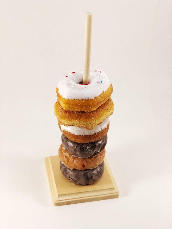 Dessert Donut Display Stand Wedding Birthday Donuts Decoration Racks Holder BF#