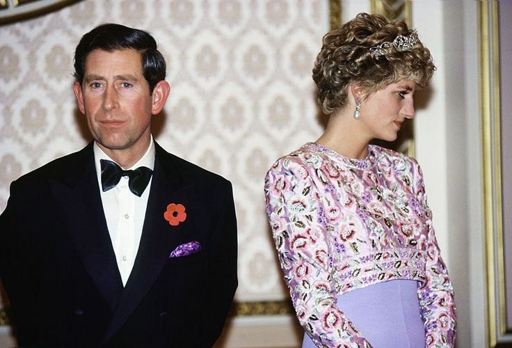 Prince Charles and Princess Diana's marriage was broken, and they became obviously distant during public appearances.  The English Prime Minister announced the official separation of the Prince and Princess of Wales in December 1992.