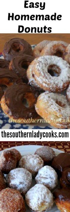 1000+ ideas about Homemade Donuts on Pinterest | Doughnut, Donut ...