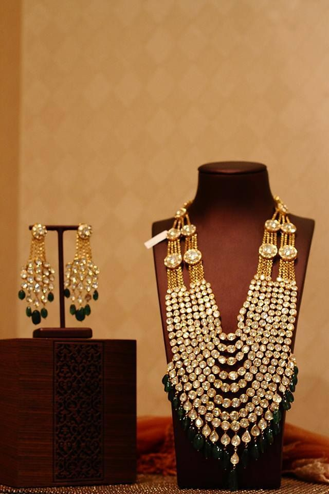 Our stunning masterpiece at the #vogueweddingshow #luxury #jewelry #thehouseofrose: those earrings