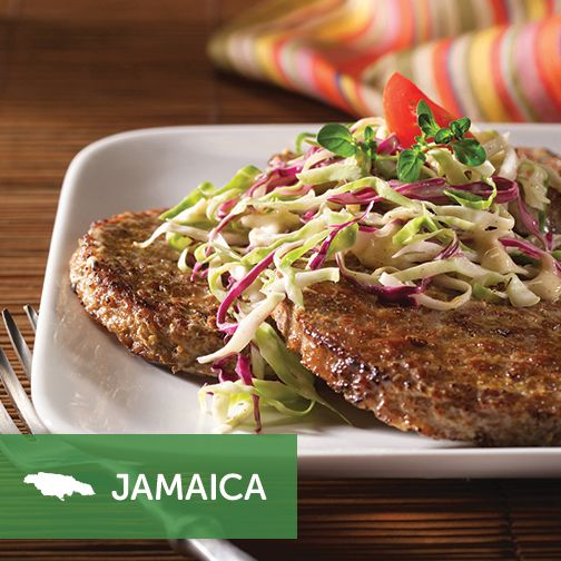 Spice up burger night with a taste of the islands. #VegMeetsWorld