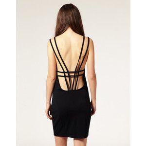 Vero Moda Strappy Low Back Mini Dress