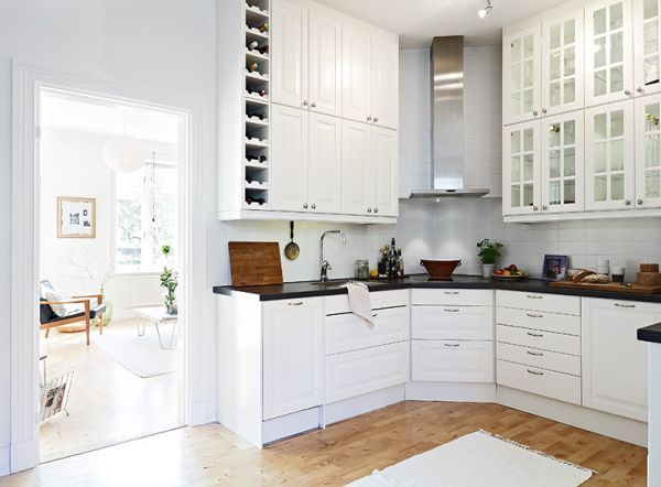 kitchen with wood cabinets 50 scandinavian kitchen design ideas for a stylish cooking 6562