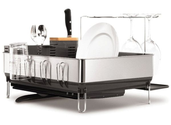 modern-stainless-dish-drying-rack