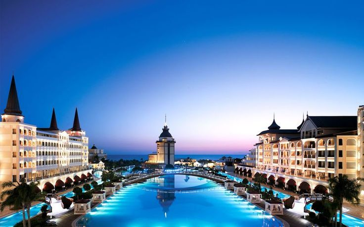 The Mardin palace hotel in Antalya, Turkey. It is one of Turkey's most expensive hotels and one night stay can cost 650 Euros and more #turkey #antalya #hotels http://www.mydestination.com/antalya/travel-articles/72446/five-star-luxury-in-antalya