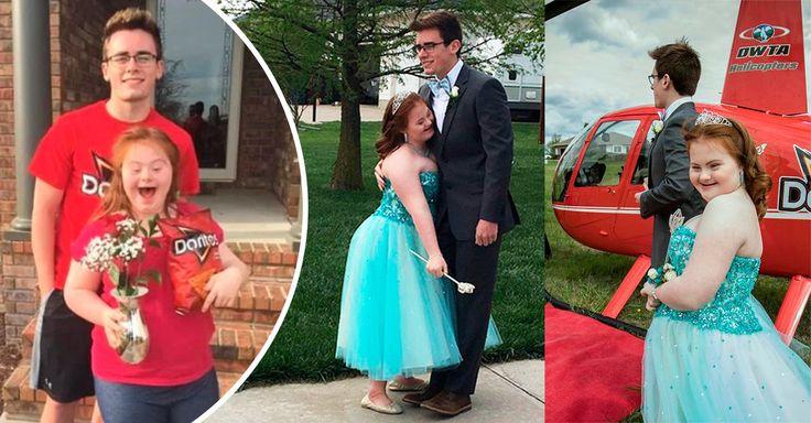 Las personas con síndrome de Down merecen una vida digna en conde sus sueños se cumplan, así lo demostró este chico al llevar a su amiga al baile de graduación.