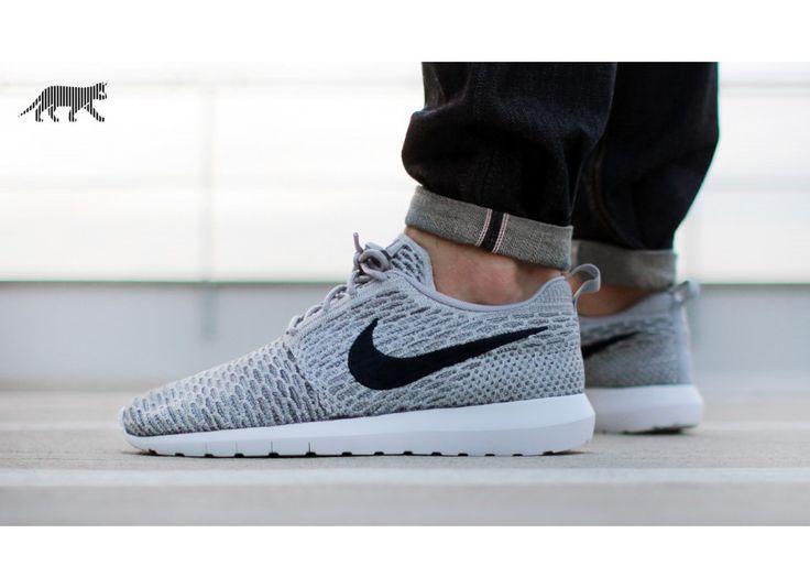 nike-flyknit-roshe-run-(light-charcoal-dark-obsidian-wolf-grey)-677243-006.jpg  (930×675) | Things to Wear | Pinterest | Shoe game